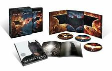 DC THE DARK KNIGHT TRILOGY:DVD Limited Edition Giftset Over 4 hrs NEW