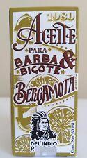 BERGAMOT OIL 2.02 OZ FOR BEARD & MUSTACHE ACEITE DE BERGAMOTA 60 ML BARBA BIGOTE