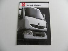 Brochure camion RENAULT MIDLUM de 11 / 2005