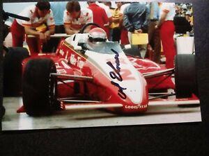 AL UNSER SR Authentic Hand Signed Autograph 4X6 PHOTO - RACE CAR LEGEND