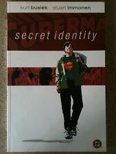 Superman: Secret Identity Tpb. 1st Printing 2004. Kurt Busiek & Stuart Immonen