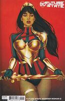 FUTURE STATE: WONDER WOMAN #2 (JENNY FRISON VARIANT) COMIC BOOK ~ DC Comics