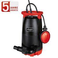 Scheppach Kombitauchpumpe SWP750 Pumpe Flachabsaugend Klarwasser Auspumpen