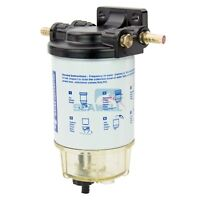 UNIVERSAL Boat Fuel Filter Marine Fuel Water Separator 10 Micron for Outboards