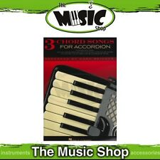 New Three Chord Songs for Accordion Music Book - 3 Chord Songbook