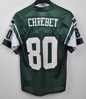 NEW YORK JETS Jersey #80 CHREBET Youth Small KIDS Shirt NFL American Football S