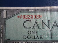 1954 Canada 1 Dollar Replacement Bank Note-*AF0223929-  20-586