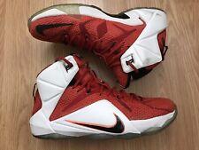 ede87e6d8875 Nike Lebron XII 12 Heart Of A Lion Basketball Sneakers Men s Size 10.5