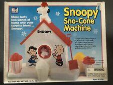 Family Board Games ! Vintage Snoopy Sno Cone Machine