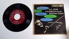 45 RPM Record: The Boston Pops w/ Arthur Fiedler - RCA Victor