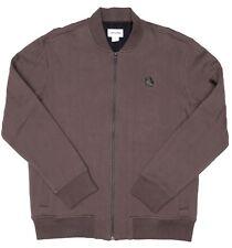 Converse Mens Brown Full Zipper Jacket Sz L 2037