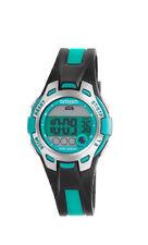 AM :p M Digital Reloj De Niños pc172-u421 ALARMA,Cronógrafo plástico verde,negro