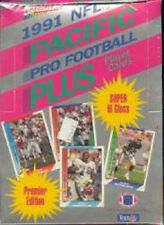 Pacific Plus 1991 NFL Pro Football Trading Card Box New