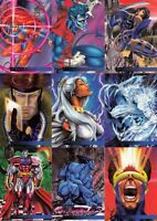 MARVEL FLAIR ANNUAL 1995 FLEER COMPLETE BASE CARD SET OF 150 MA