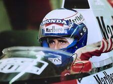 Alain Prost Hand Signed Marlboro McLaren F1 16x12 Photo 18.