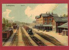 More details for ludwigsburg railway station bahnhof germany pc unused am208