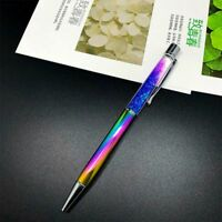 Rainbow Color Office Rhinestone Material Pens Crystal Stationery Ballpoint