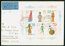 Mayfairstamps DDR 1982 Wolfen Dolls Combo Cover wwo_50897