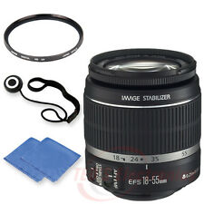 Canon EF-S 18-55mm IS II Lens w/ 58mm UV Filter, Cap keeper & Microfiber Cloth