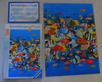 Rush Hour Tropical Fish School Jigsaw Puzzle 500 Ravensburger Ocean Wildlife