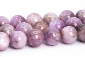 Genuine Natural Kunzite Beads Brazil Round Gemstone Loose Beads 6/8/10MM