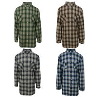 Carhartt Men's Classic Plaid L/S Woven Shirt XL-4XL (Retail $45)