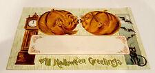 Vintage 1909 Halloween Postcard - Germany Trade Mark Cards #2040