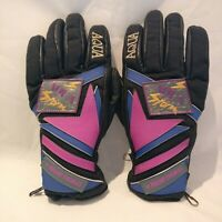FRANK THOMAS Motorbike Gloves Aqua Storm Leather Palms Size Ladies Small
