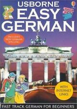 Easy German Usborne Internet-Linked Easy Languages English and German Edition