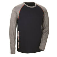 Polaris Mens Long Sleeve Tech Tee Fitted Moisture Wicking Cozy Mid-Layer T-Shirt