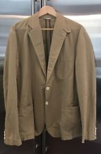 "Men's BILLY REID ""Loudon"" Tan Cotton Sports-coat Size 44 R"
