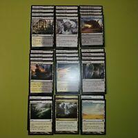 30 Card Non Basic Dual Land Collection Plains / Swamp Magic the Gathering MTG