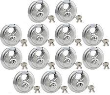 Lock Set by Master 40KA (Lot 13) Keyed Alike Round Weather Resistant Stainless
