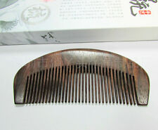 12-2 QiaoYaTou Nice Natural Rosewood Unisex Fine-toothed Health Care Comb
