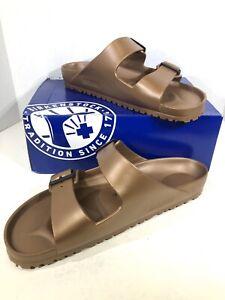 Birkenstock Arizona EVA Men's Size 12 (EU45)Reg Fit Copper Slide Sandals S1-1510