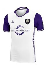 Adidas Climacool MLS Orlando City FC Soccer Jersey Sz Small 7418A