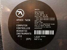 Aphex Twin Computer Controlled Acoustic Instruments Pt2 Warp Records AFX Vinyl
