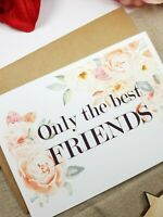 Pregnancy announcement card for friend get promoted to uncle auntie card PA34