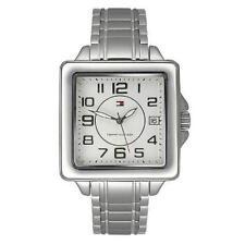 New Tommy Hilfiger Women Stainless Steel Date Dress Watch 34x32mm 1780825 $115