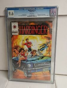Harbinger #1 CGC 9.6 with coupon Pre-Unity Valiant 1992 First Appearance 🔑