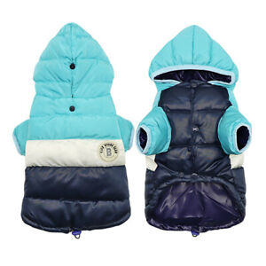 Chihuahua Dog Coat Jacket For Small Dogs Warm Winter Puppy Dog Clothes Hoodie
