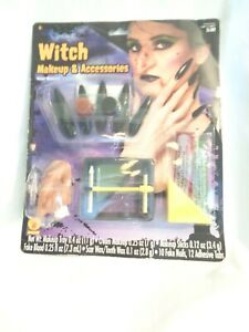 New Collegeville Imagineering Halloween Witch Makeup And Accessories Kit
