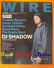 rivista WIRE 220/2002 DJ.Shadow Susie Ibarra Bernhard Gunter People Band No cd
