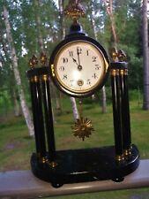 Antique Rare Fabrik Marke Art Deco Junghans Collection Clock 1900s