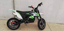 Mini Moto Cross Nuova AF moto MXT EVO PRO 10/10 50 cc Bianco verde