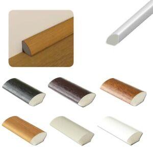 uPVC Quadrant Plastic Finishing Trim - Window / Tile Beading - 5 x 95cm Lengths