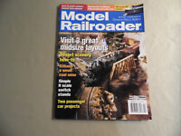 Model Railroader Magazine / April 2005 / Free Domestic Shipping