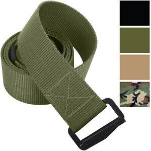 Tactical Utility BDU Belt Adjustable Heavy Duty Nylon Uniform Belt