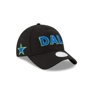 Dallas Mavericks City Series New Era NBA 9TWENTY Strapback Hat Mom Cap Women's