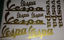 10 Vespa Stickers ALL COLOURS AVAIL, GT, GTS, LX, ET, PX, GS, PK, ET2, ET4, GTV